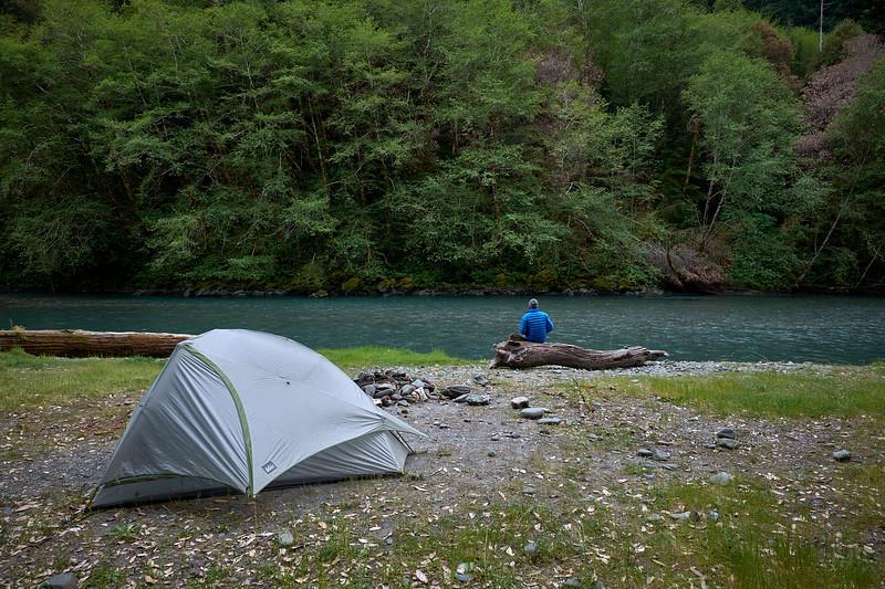 redwood creek camping
