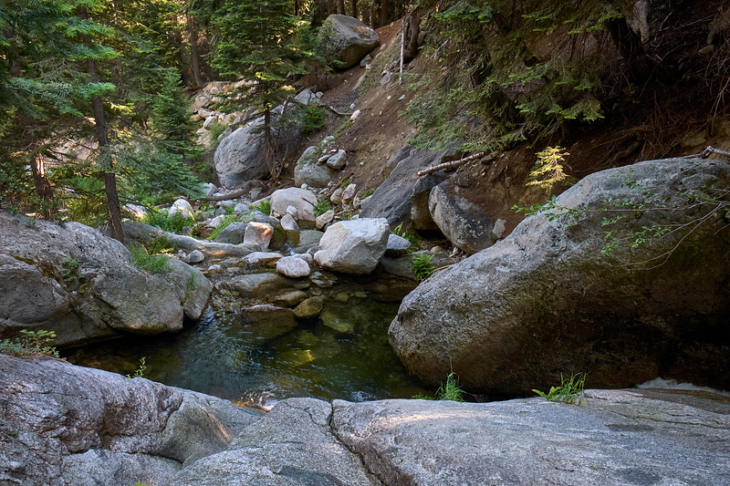 Swimming hole at Nine Mile Creek