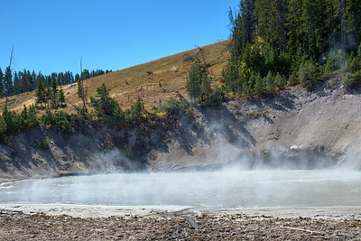 A spring at Mud Volcano in Yellowstone National Park