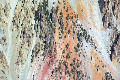 Colors in the Grand Canyon of the Yellowstone