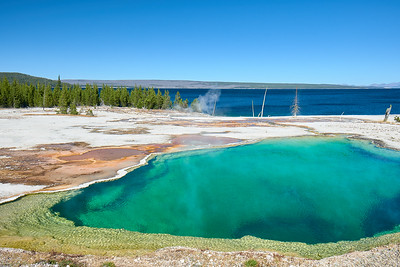 The Abyss Pool at West Thumb Geyser Basin