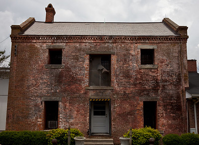 The Currituck County Old Jail, built circa 1820.  North Carolina.