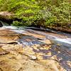 Cascades along the Lower Falls Trail
