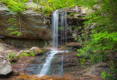 Indian Creek Trail, Hanging Rock State Park, North Carolina.