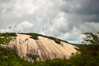 View from Cedar Rock.  Stone Mountain State Park, North Carolina.