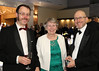 05 OCT 2019 – PICTURED: Richard Kemp-Luck, Anne Kemp-Luck and Ed Kemp-Luck - The Harwich Society's 50th Anniversary Dinner at the Waterfront, Dovercourt – Photo Copyright © Maria Fowler 2019