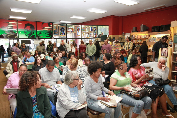 Eso Won Bookstore Presents - Pam Grier signing her new book - FOXY A MEMOIR - My Life in Three Acts 5-14-2010