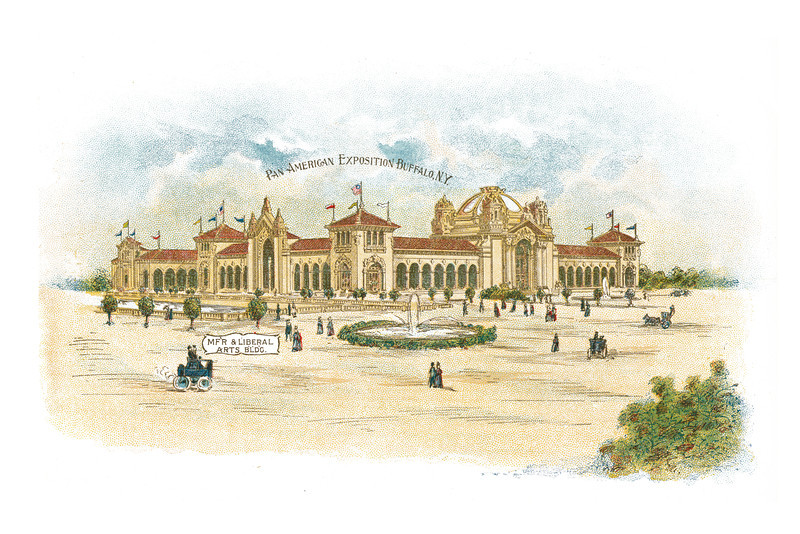 Pan-American Exposition Buffalo, New York: MF'R & Liberal Arts BLDG., undated - 18.18