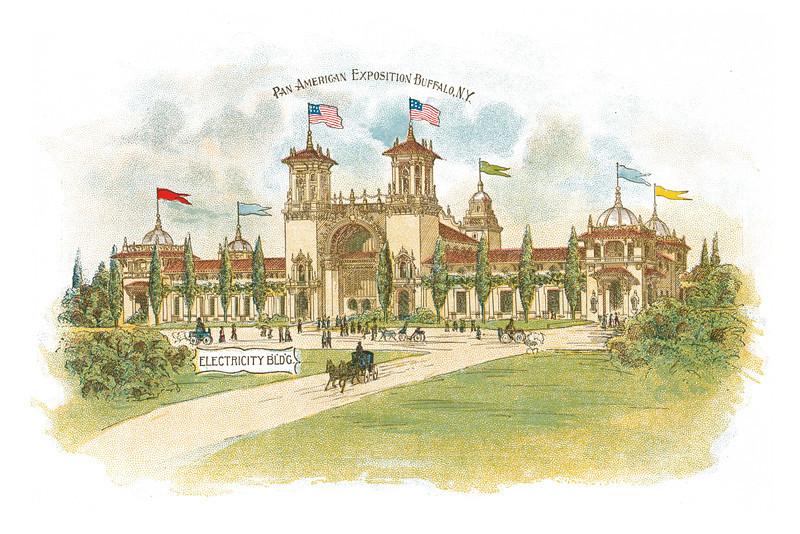 Pan-American Exposition Buffalo, New York: Electricity BLDG., undated - 18.16