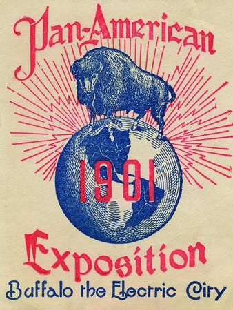 1901 Pan-American Exposition. Buffalo the Electric City.