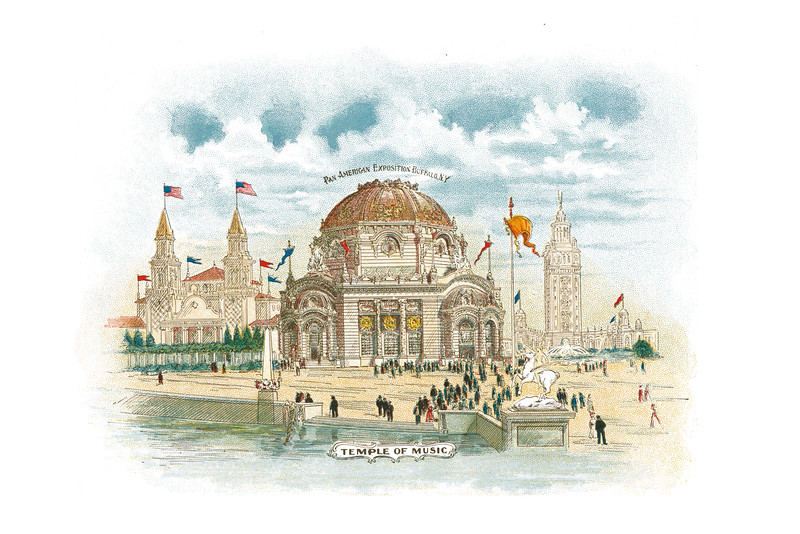 Pan-American Exposition Buffalo, New York: Temple of Music., undated - 18.17