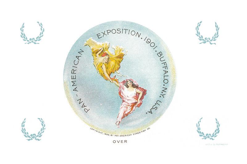 Souvenir Card: Pan-American Exposition, undated. - 14.49