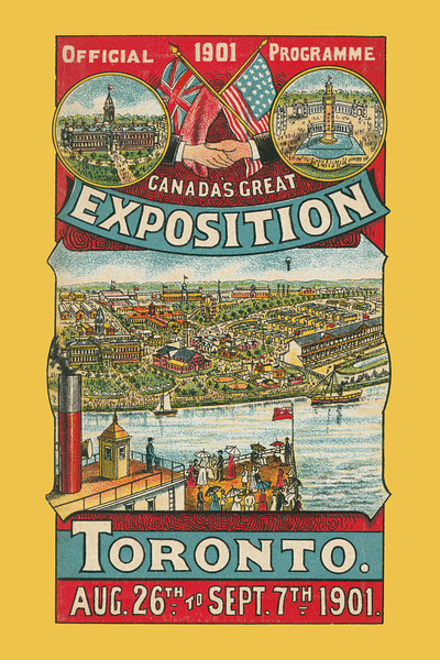 Official Programme Canada's Great Exposition: Toronto. Toronto: Hough Lith Co., 1901 - 14.35