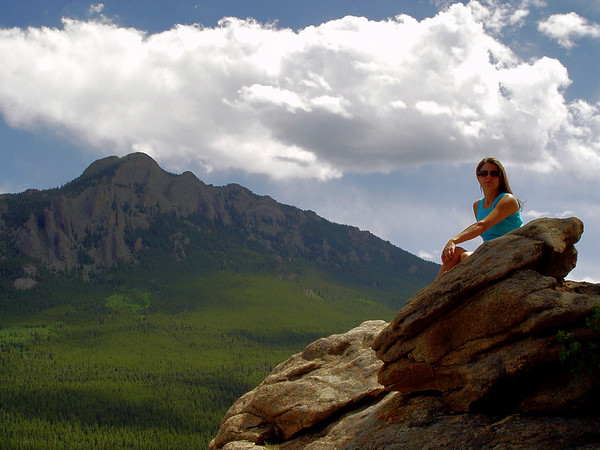 Princess on Her Throne... Her Rocky Mountain Realm...
