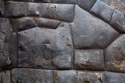 Do you see the cat?  Stonework at Sacsayhuaman.