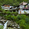 Machu Picchu town.