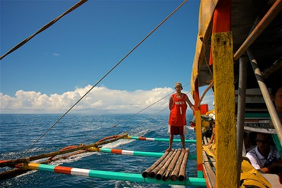 Sailor, Caramoan Islands, Bicol, Philippines