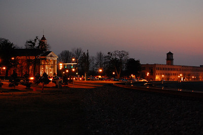 Buford Georgia at sunset