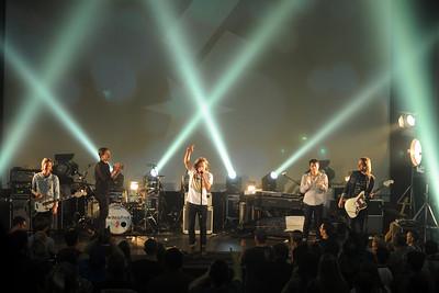 Switchfoot, in concert in Chico, CA, November 2013