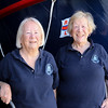 14 SEP 2019  - Pictured: Harwich Society volunteers Audrey Renshaw and Penny Gander at Harwich Lifeboat Museum, Harwich Society, Heritage Open Days Weekend  -  Photo Copyright © Maria Fowler 2019