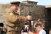 12 SEP 2020 – Pictured:  Simon Todd (WW2 Reenactor)  - Harwich Redoubt Fort – Heritage Open Days – Photo Copyright © Maria Fowler 2020