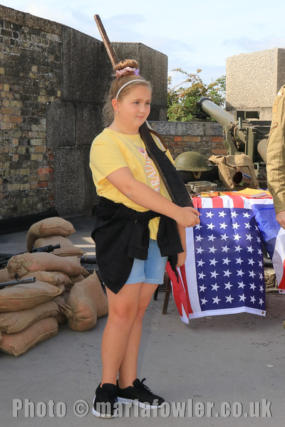 12 SEP 2020 – Pictured: Kera, age 9, Spring Meadows School, Dovercourt - Harwich Redoubt Fort – Heritage Open Days – Photo Copyright © Maria Fowler 2020