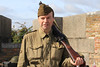 12 SEP 2020 – Pictured: Grant Harris (WW2 Reenactor) - Harwich Redoubt Fort – Heritage Open Days – Photo Copyright © Maria Fowler 2020