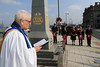 03 SEP 2021 – PICTURED: Rev. Canon Margaret Shaw - Merchant Navy Day, wreath laying – The Quay, Harwich – Photo Copyright © Maria Fowler 2021