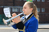 03 SEP 2021 – PICTURED: - Bugler, Ellie Bould -Merchant Navy Day, wreath laying – The Quay, Harwich – Photo Copyright © Maria Fowler 2021