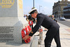 03 SEP 2021 – PICTURED: Mechanic AB Vincent Lord, Trinity House - Merchant Navy Day, wreath laying – The Quay, Harwich – Photo Copyright © Maria Fowler 2021