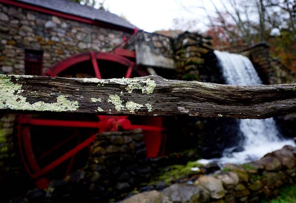 The Wayside Inn Grist Mill in Sudbury, Massachusetts