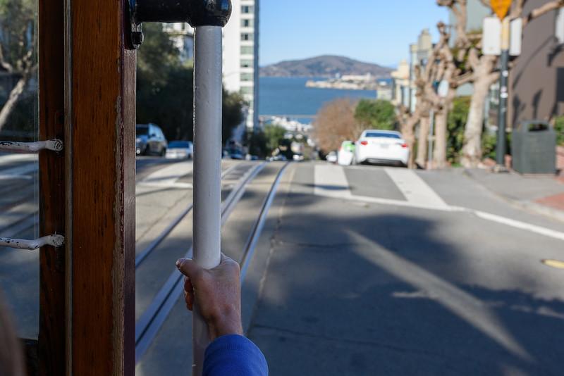 San Francsico, Trolley car ride