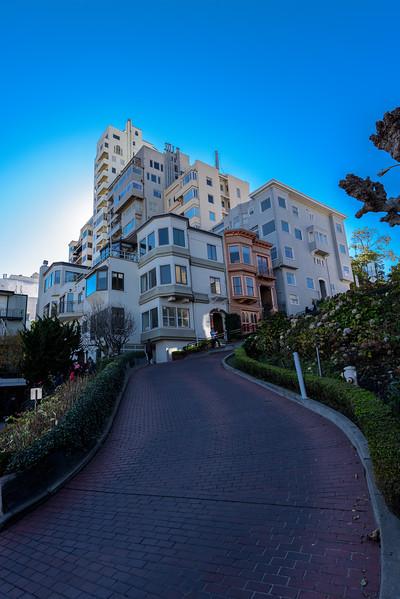 Lombard street, San Francsico