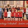 Carthage Volleyball Seniors - 2010