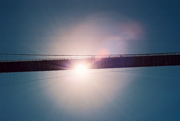 Royal Gorge Bridge at noon...