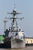 USS <i>Forrest Sherman</i> (DDG-98), <i>Arleigh Burke</i>-class destroyer, New Orleans, February 2009