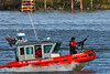 Mississippi River patrol, New Orleans, Louisiana, February 2009