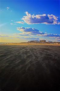 Windy Beach, Punta Umbria, Spain