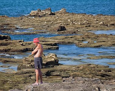 Low tide in Cadiz, Spain