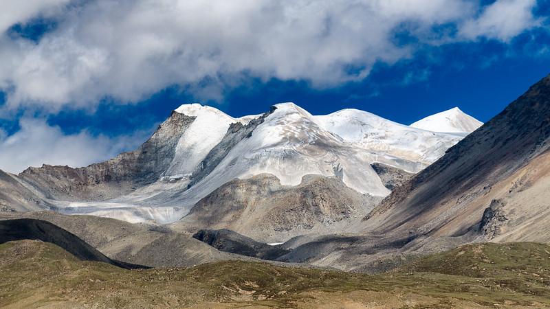 Nyenchen Tanglha Mountain in Tibet