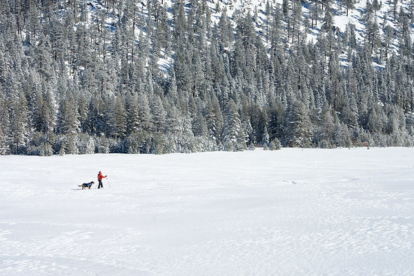 Crossing Grass Lake