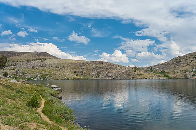 Fishermen on Winnemucca Lake