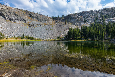 Lake Sylvia in Desolation Wilderness