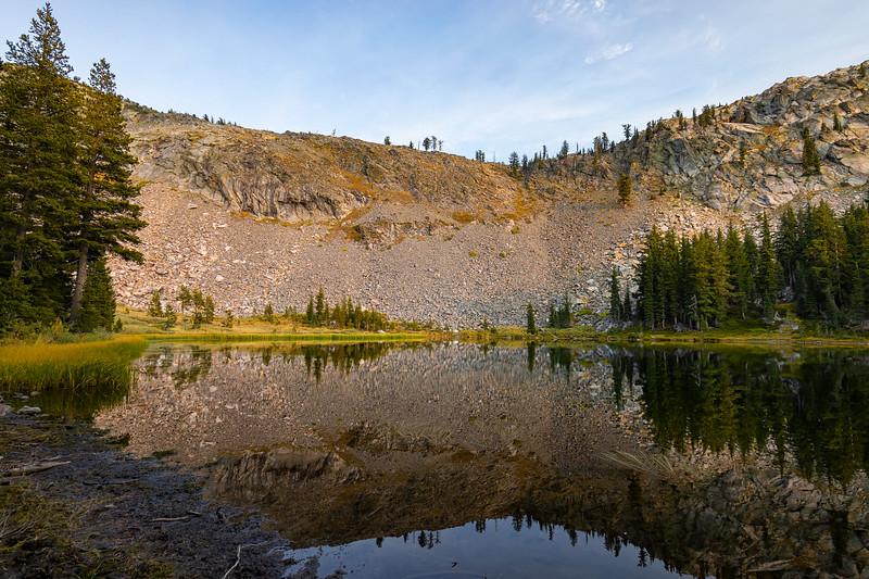 Lake Sylvia in Desolation Wilderness