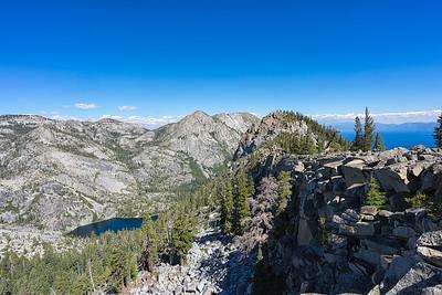 Eagle Lake and Lake Tahoe