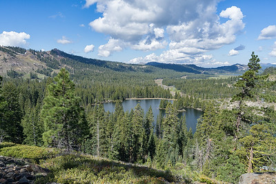 Lake Mary from the Mt. Judah Loop trail.