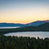 Fallen Leaf Lake and South Lake Tahoe