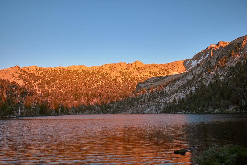 The Golden Hour at Star Lake, California