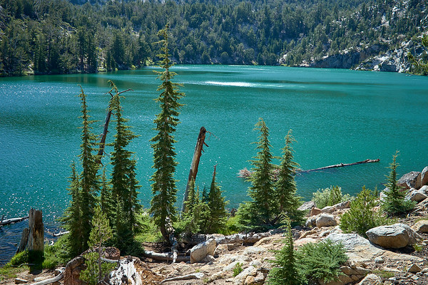 Star Lake from the Tahoe Rim Trail.