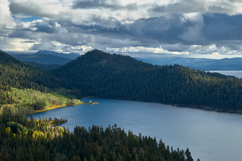 Marlette Lake from Marlette Peak.